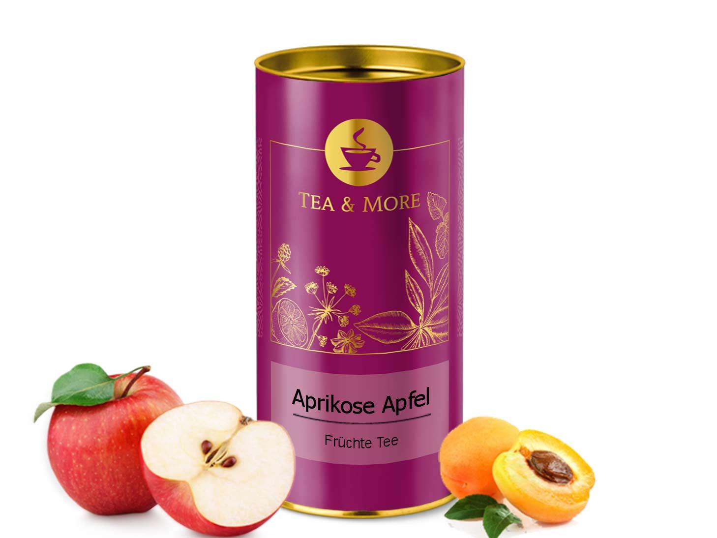Aprikose Apfel