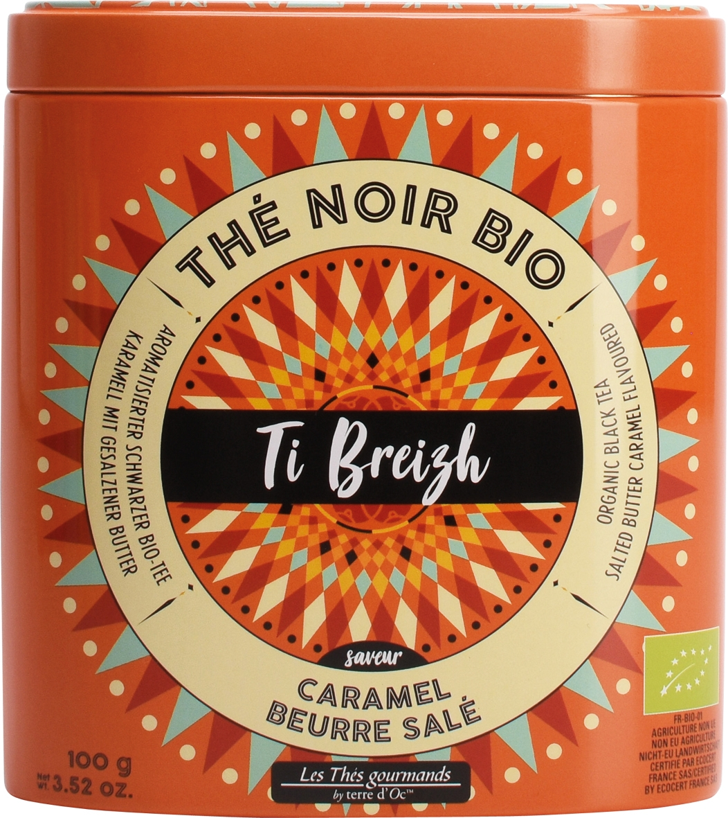 Terre d'Oc BIO Tee  Thé Caramel- Beurre sale