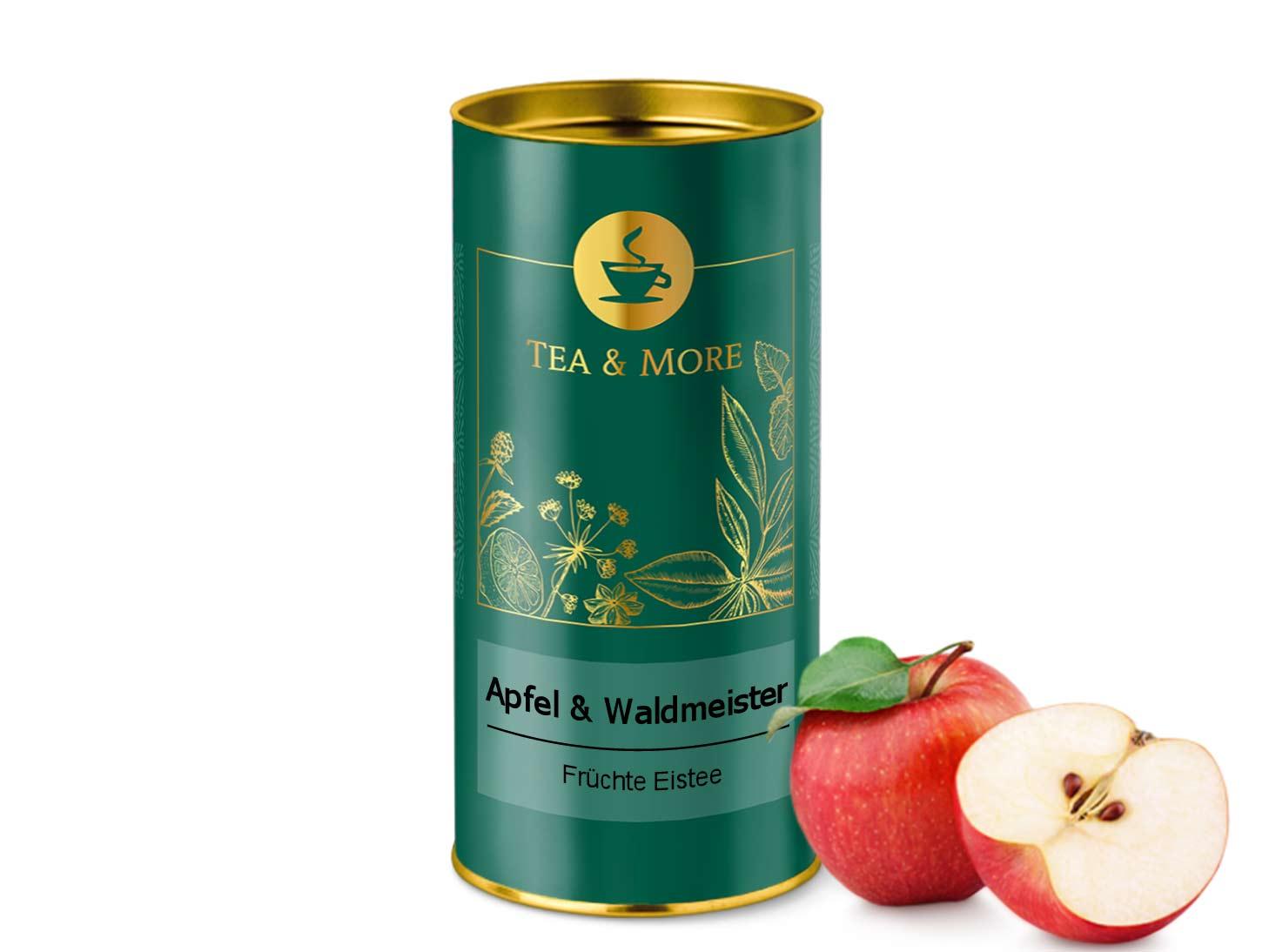 Eistee Apfel & Waldmeister