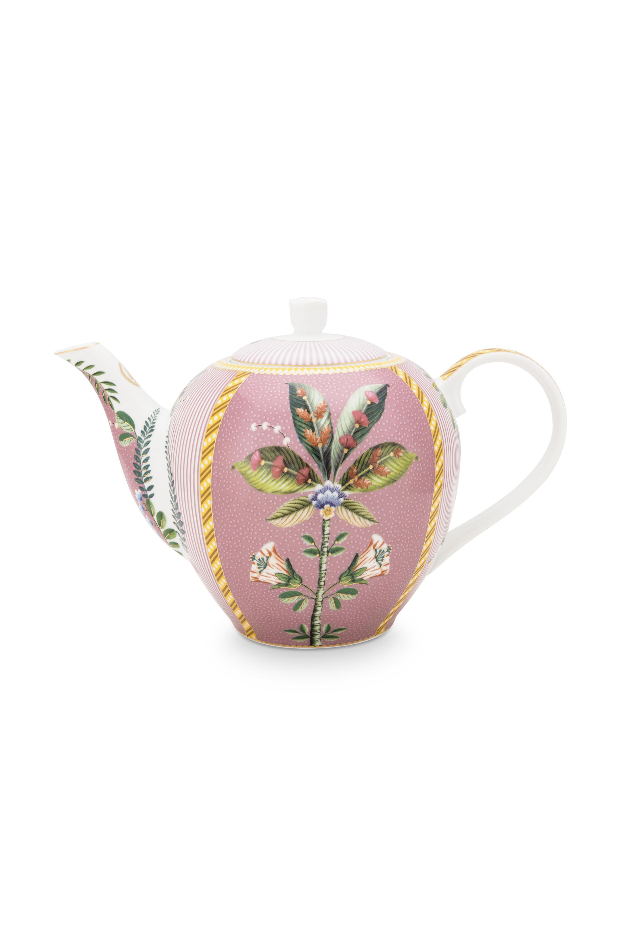 Pip Studio La Majorelle Teekanne Groß Pink