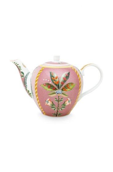 Pip Studio La Majorelle Teekanne Groß rosa