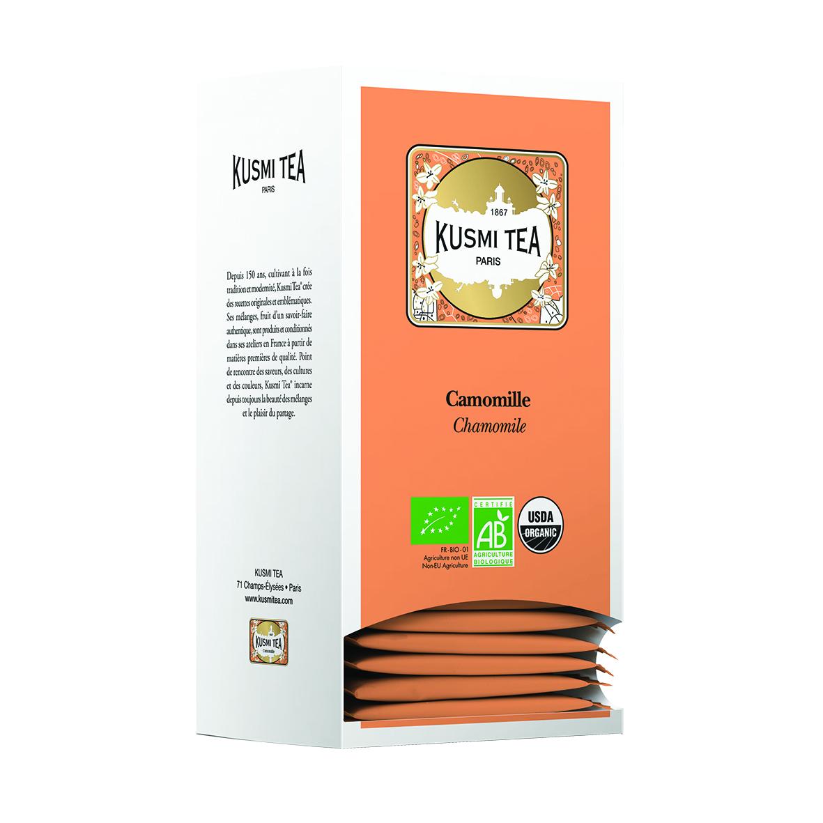 Camomille - Bio (25 Teebeutel, einzeln verpackt)