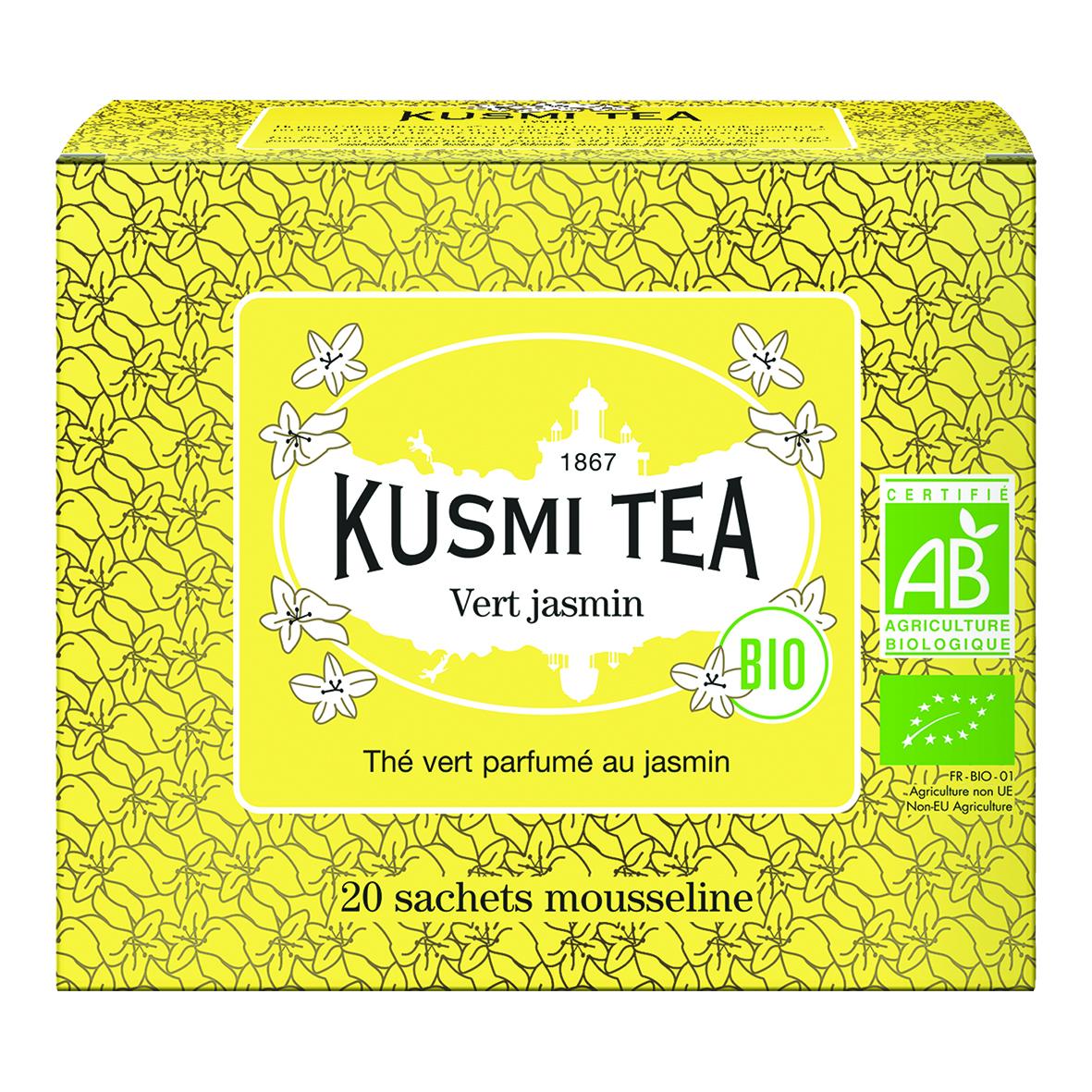 Grüner Tee Jasmin - Bio (20 Teebeutel)