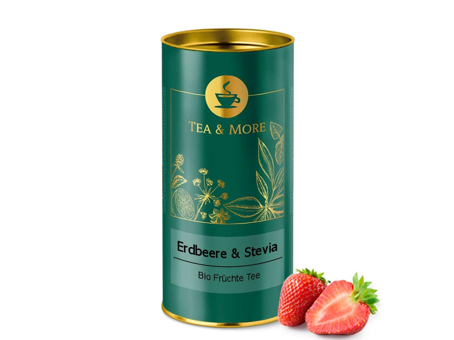 Erdbeer & Stevia (Bio)