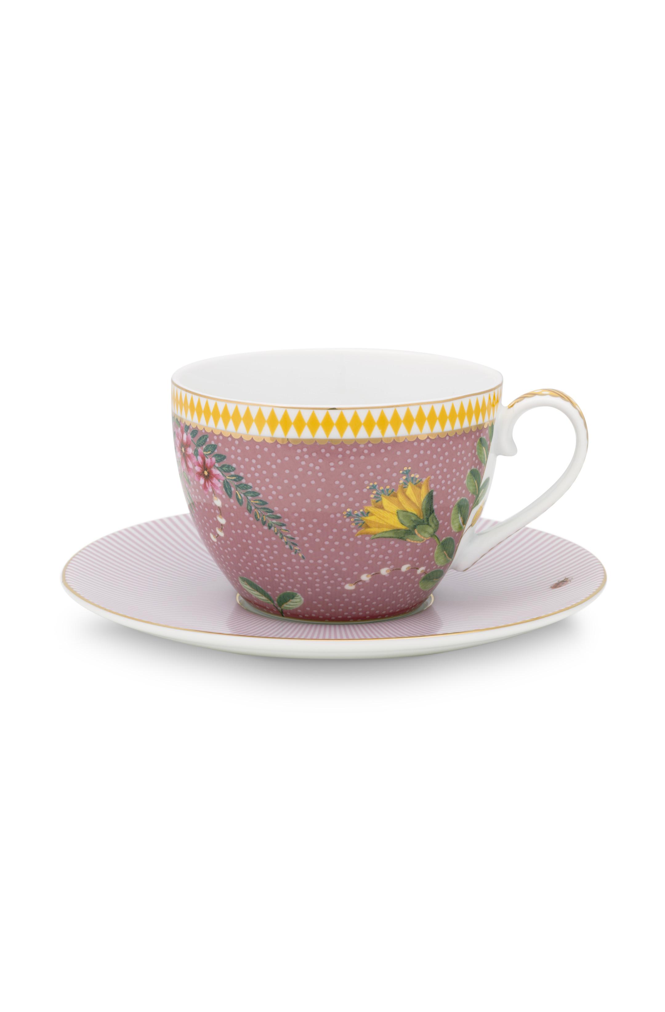 Pip Studio La Majorelle Tasse & Untertasse Pink