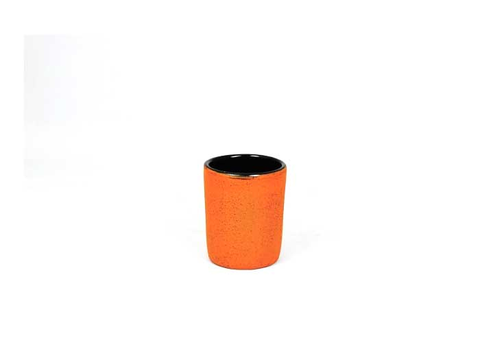 Gusseisen Becher orange