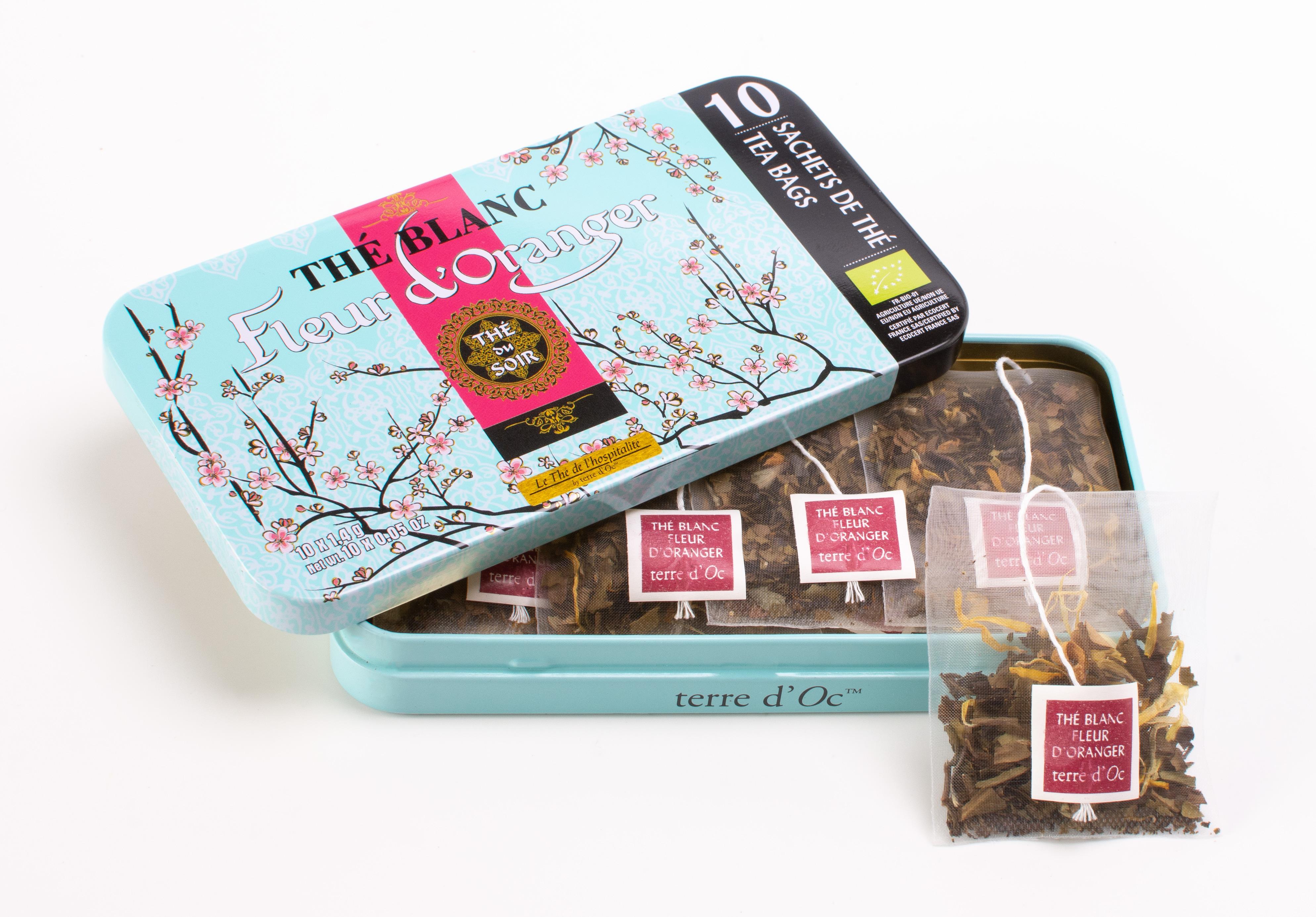 White Tea Orange Blossom - Organic (10 tea bags)