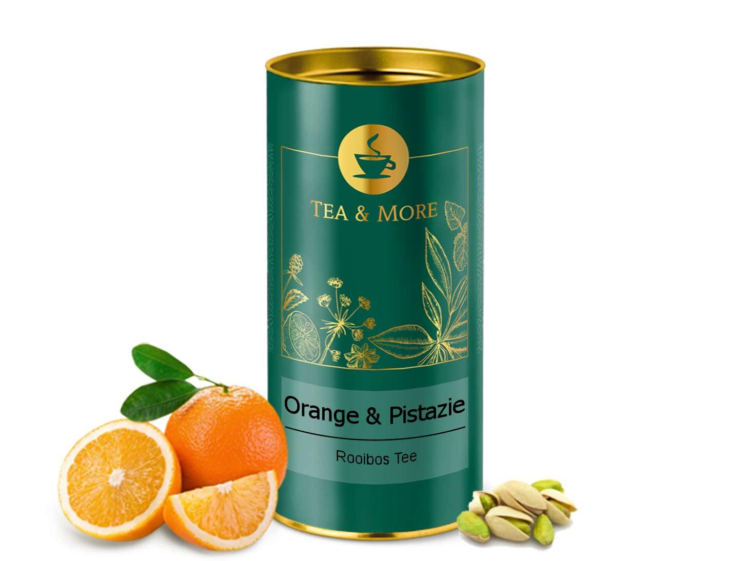 Orange & Pistazie