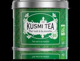 Green Tea with Mint - Organic (100g tin)