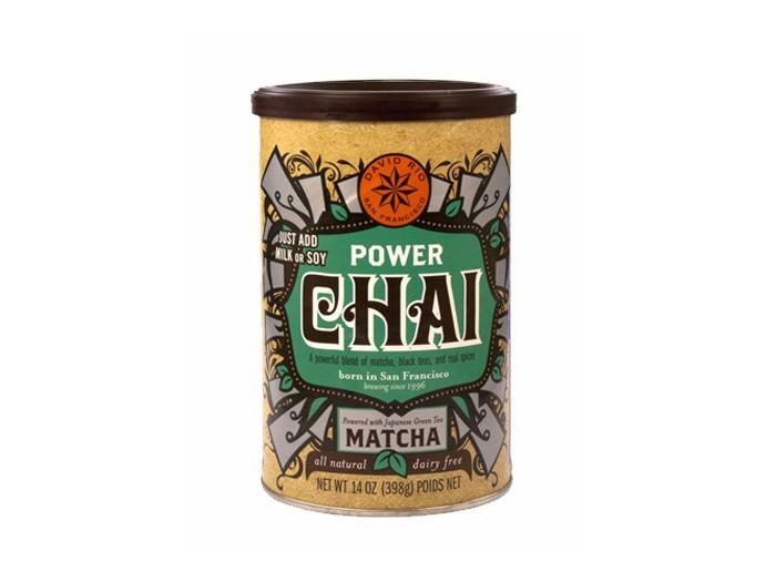David Rio Power Chai mit Matcha (398g Dose)