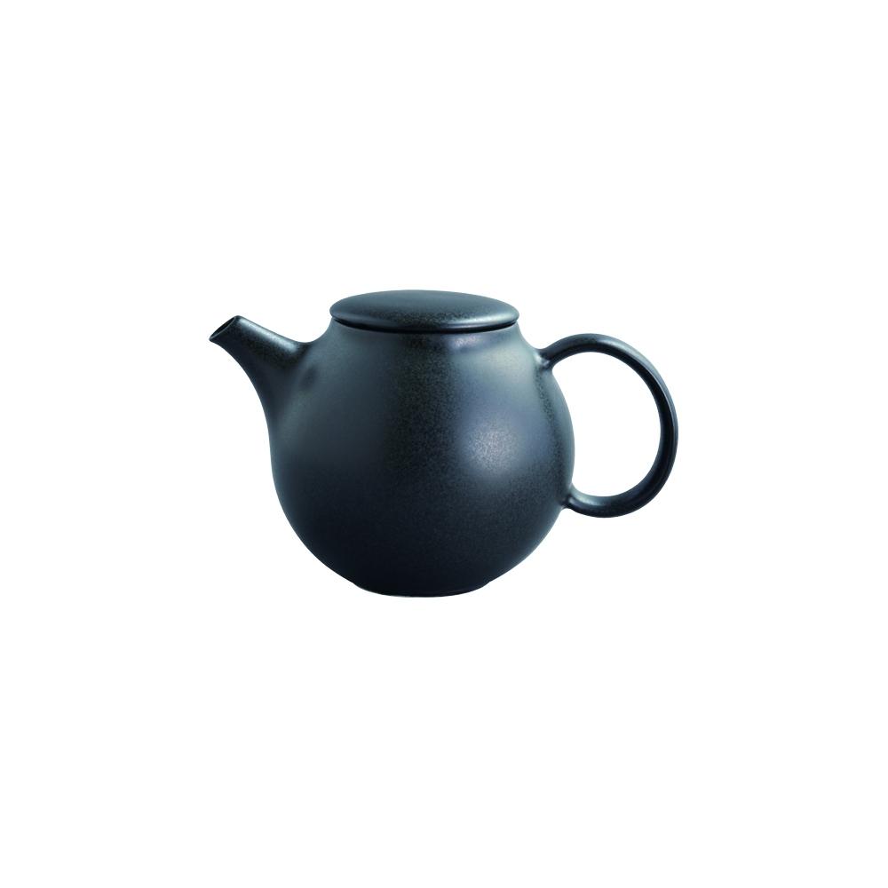 """Teekanne """"Pebble"""" von Kinto schwarz (0,5 l)"""