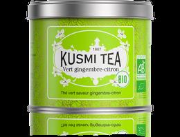 Green Tea Ginger Lemon - Organic (100g tin)