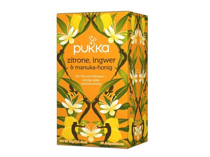 Pukka Zitrone, Ingwer & Manuka Honig (Bio)
