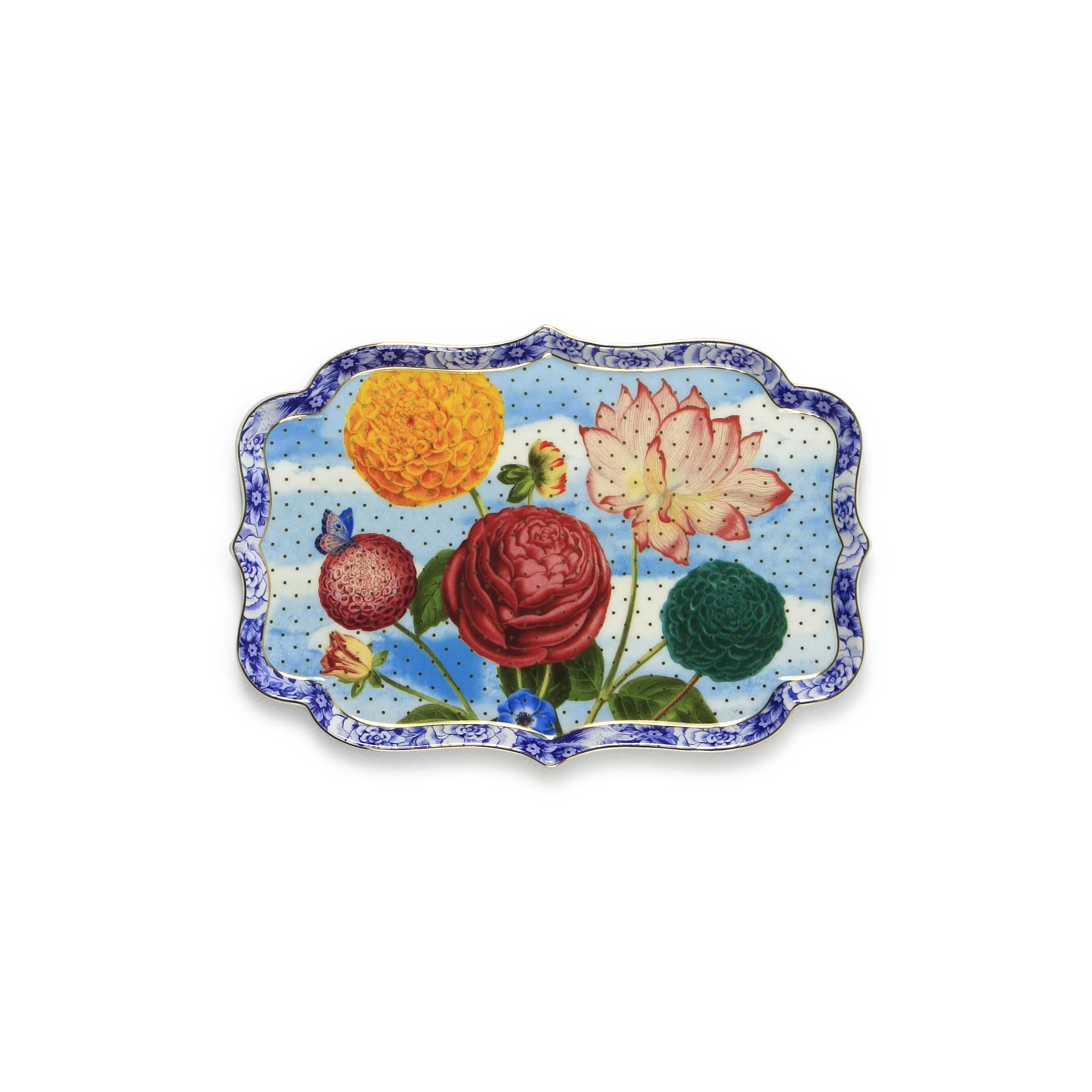 Pip Studio Royal Tablett Flowers