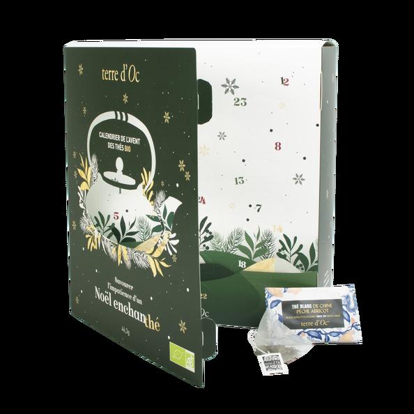 Adventskalendar 24 Bio Tee und Rooibosteebeutel