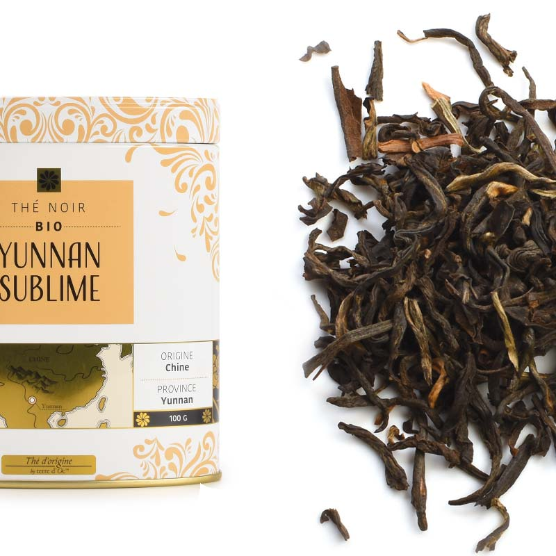 "Schwarzer Tee ""Yunnan Sublime"" - Bio"