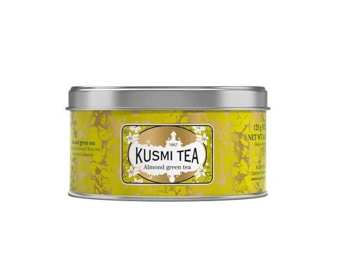 Grüner Tee Mandelgeschmack (125g Dose)