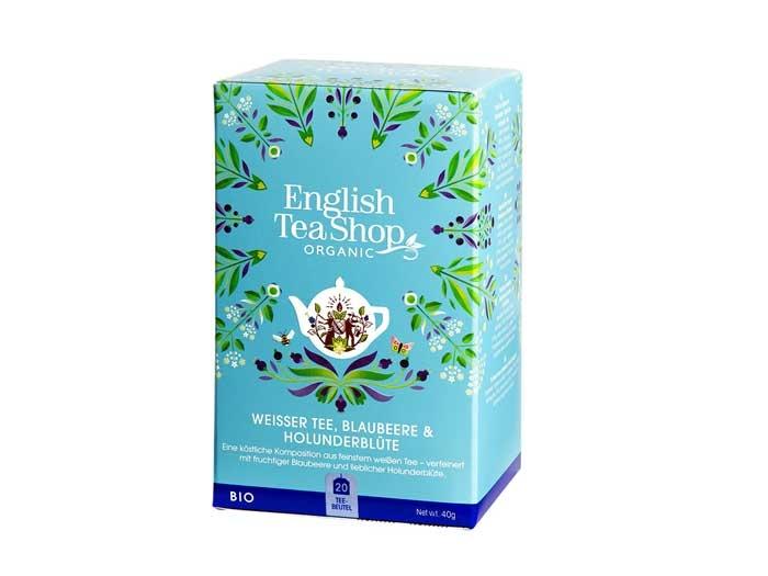 English Tea Shop Blueberry & Elderflower (Bio)