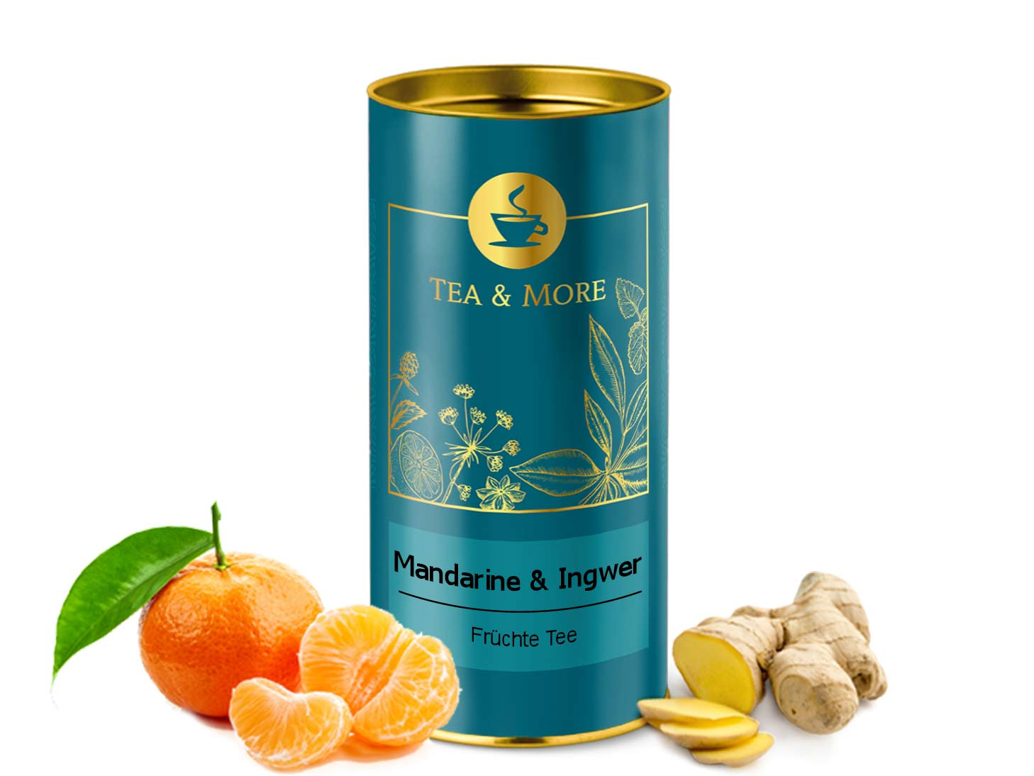 Mandarine & Ingwer