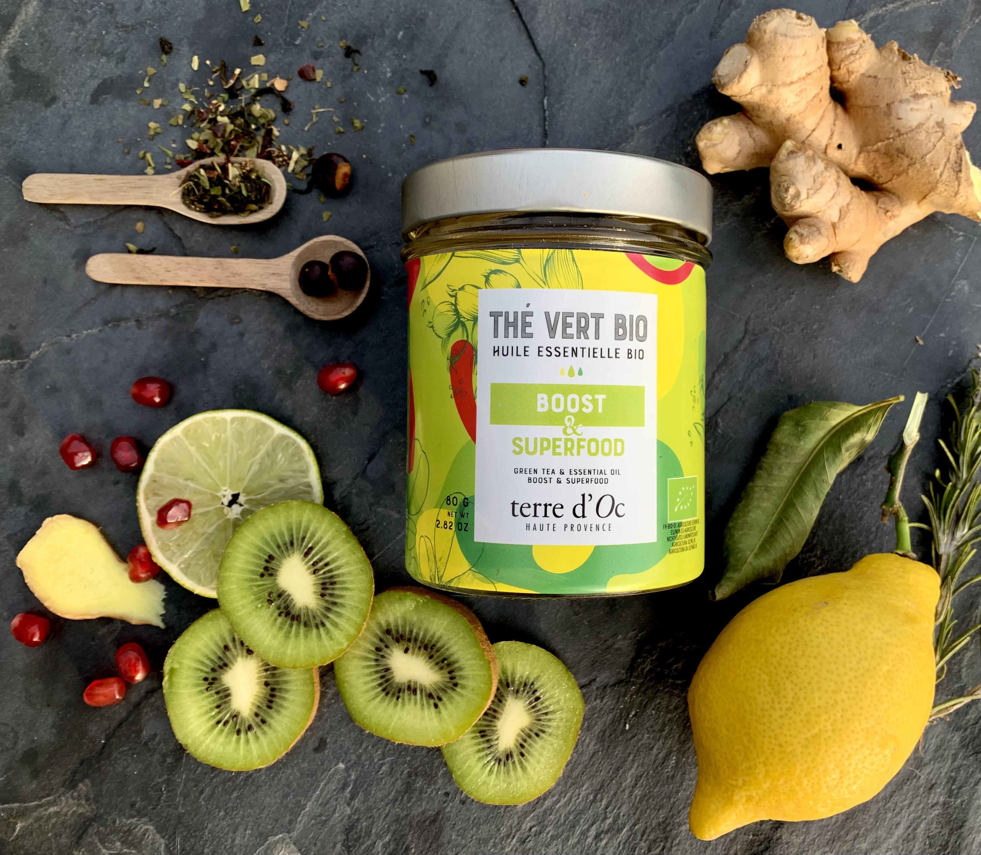 Green Tea Boost & Superfood - Organic