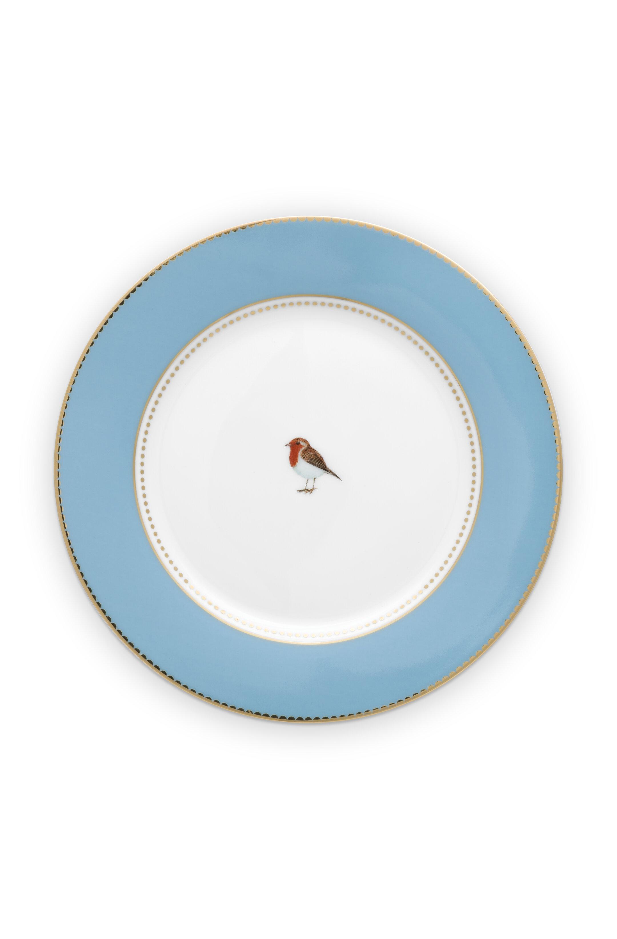 Pip Studio Love Birds Teller Blue (21cm)