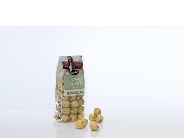 Kindly's Goldene Kugeln (150g Tüte)
