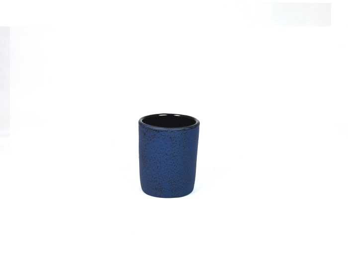 Gusseisen Becher dunkelblau
