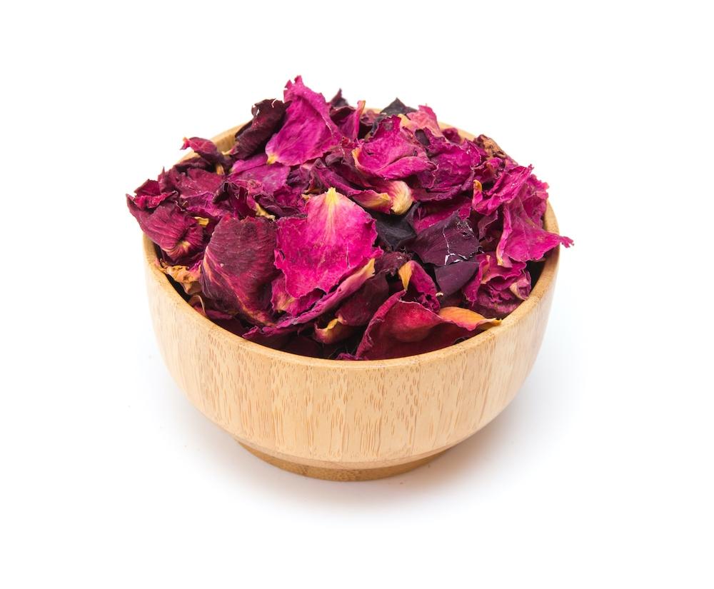 Rosenblütenblätter (Bio)