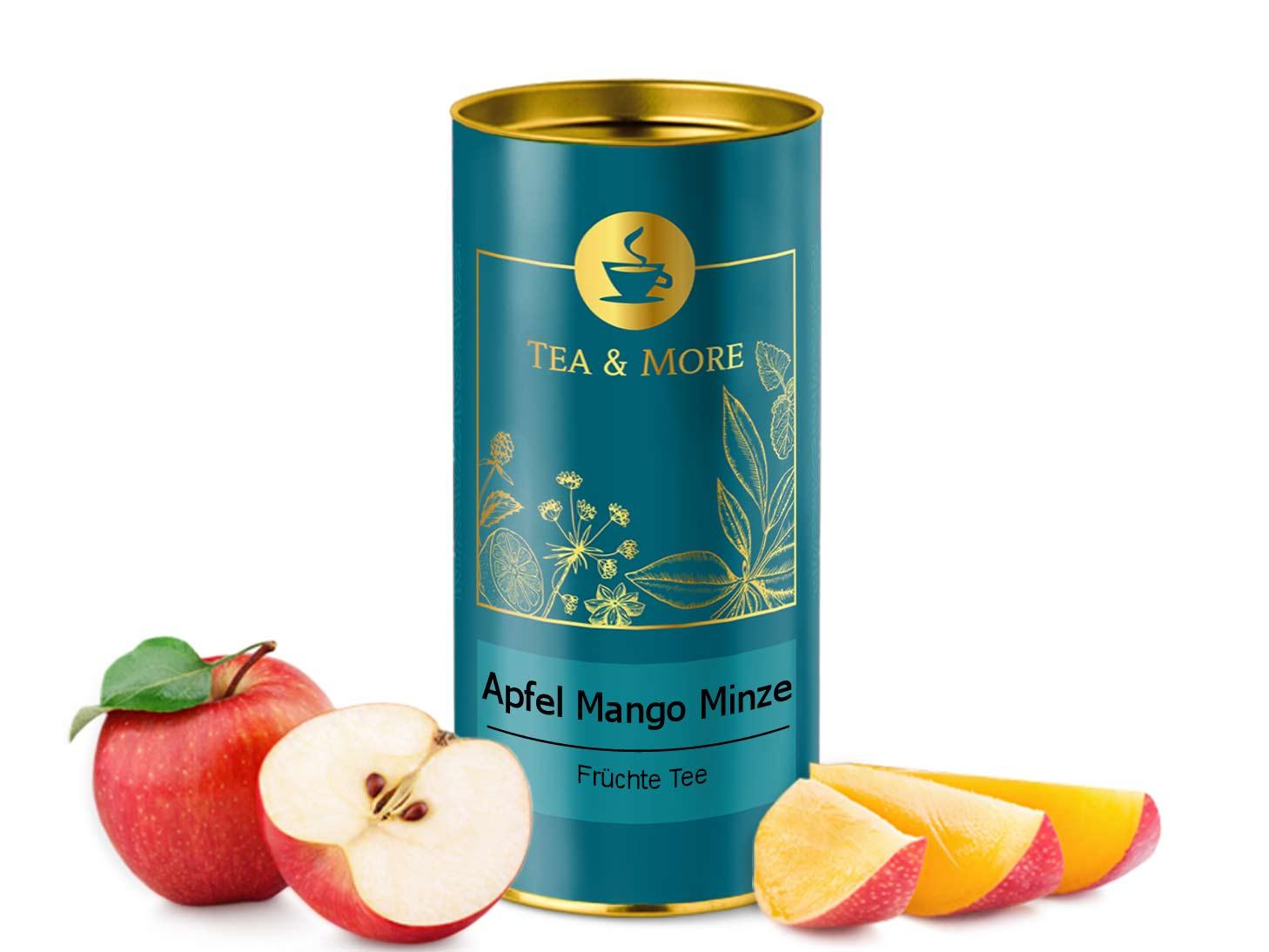 Apfel, Mango & Minze