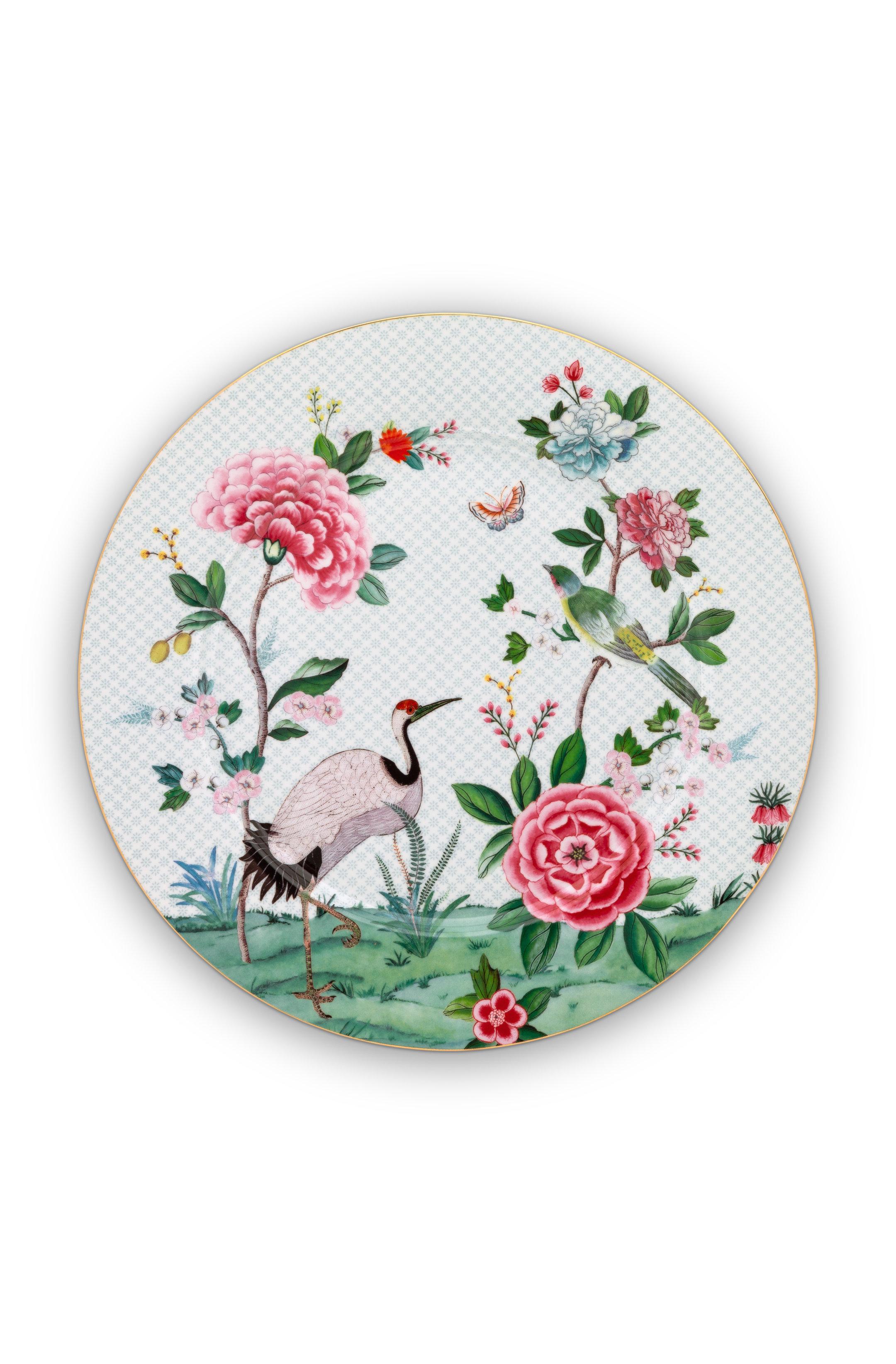 Pip Studio Blushing Birds White Teller (32cm)