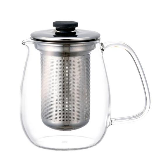 Kinto Unitea Stainless Steel Tea Pot Set Large