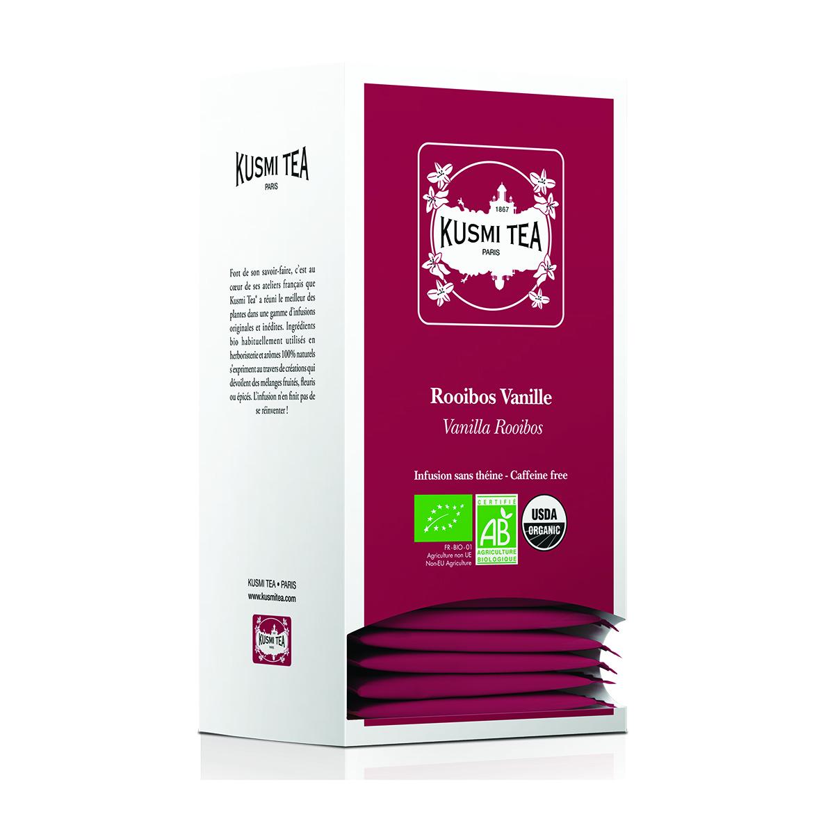 Rooibos Vanilla - Organic (25 tea bags individually packed)