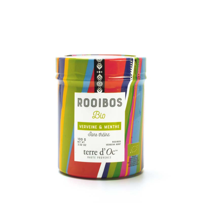 Rooibos Tee Eisenkraut & Minze - Bio