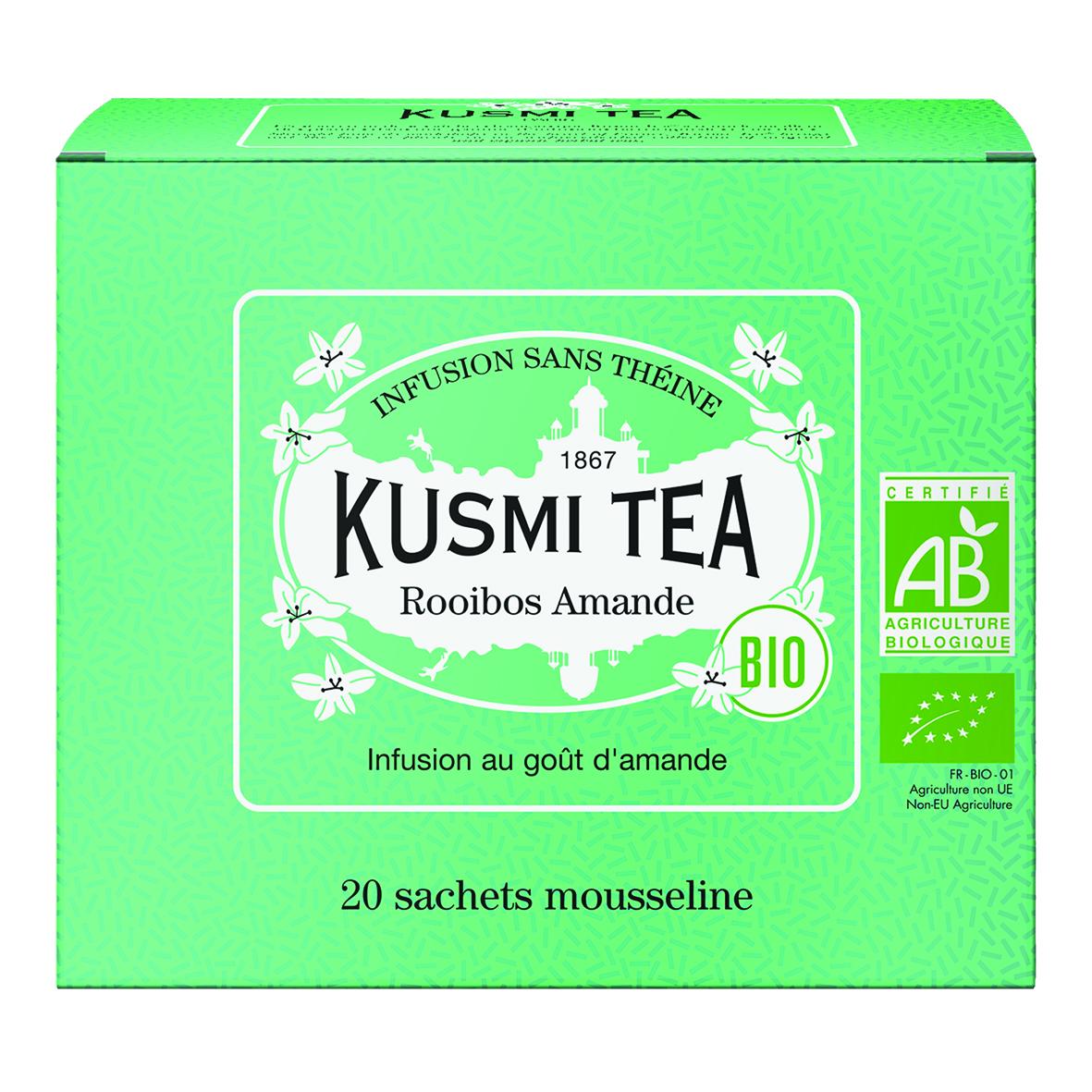Rooibos Almond - Organic (20 tea bags)