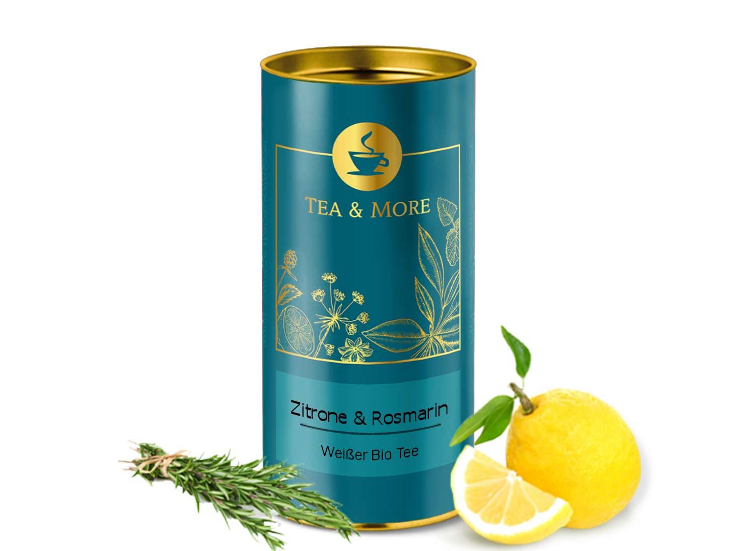 White Tea Lemon & Rosemary (Organic)