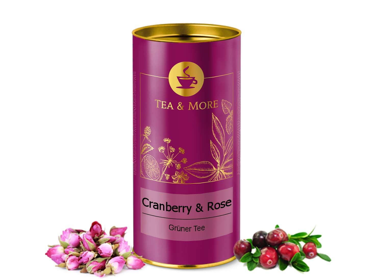 Grüner Tee Cranberry & Rose
