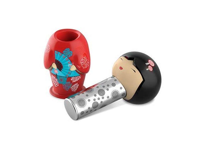 Teefilter Geisha (rot)