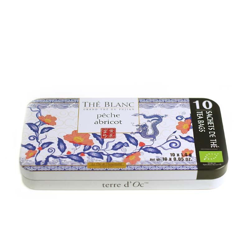 White Tea Apricot-Peach - Organic (10 tea bags)