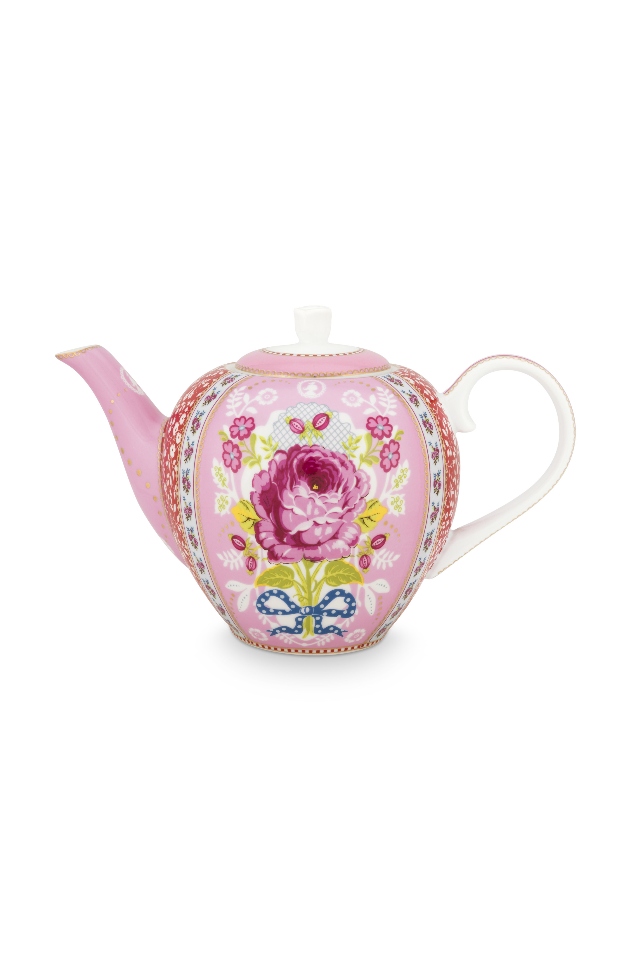 Pip Studio Early Bird Pink Teekanne Groß