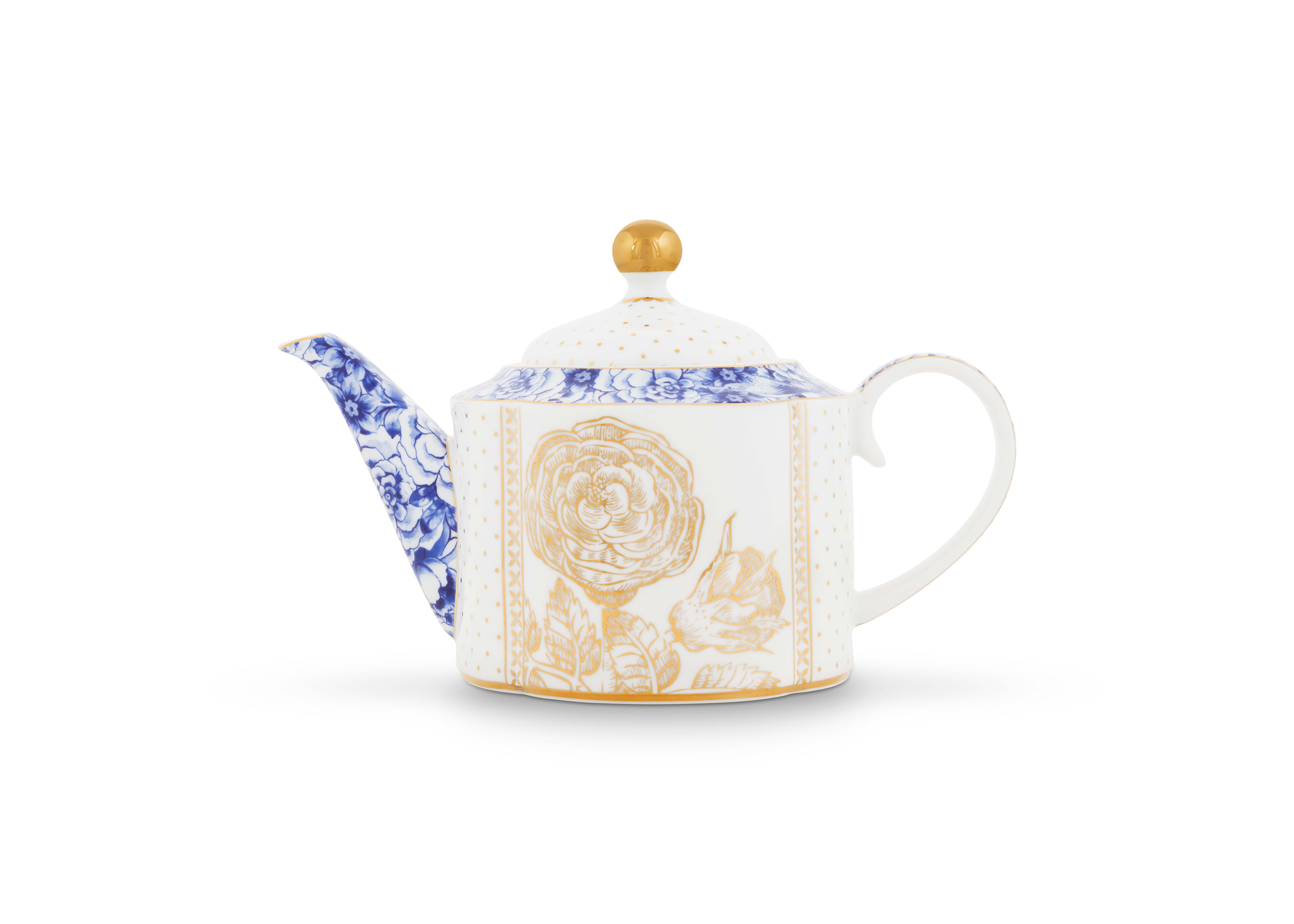 Pip Studio Royal White Teekanne Klein