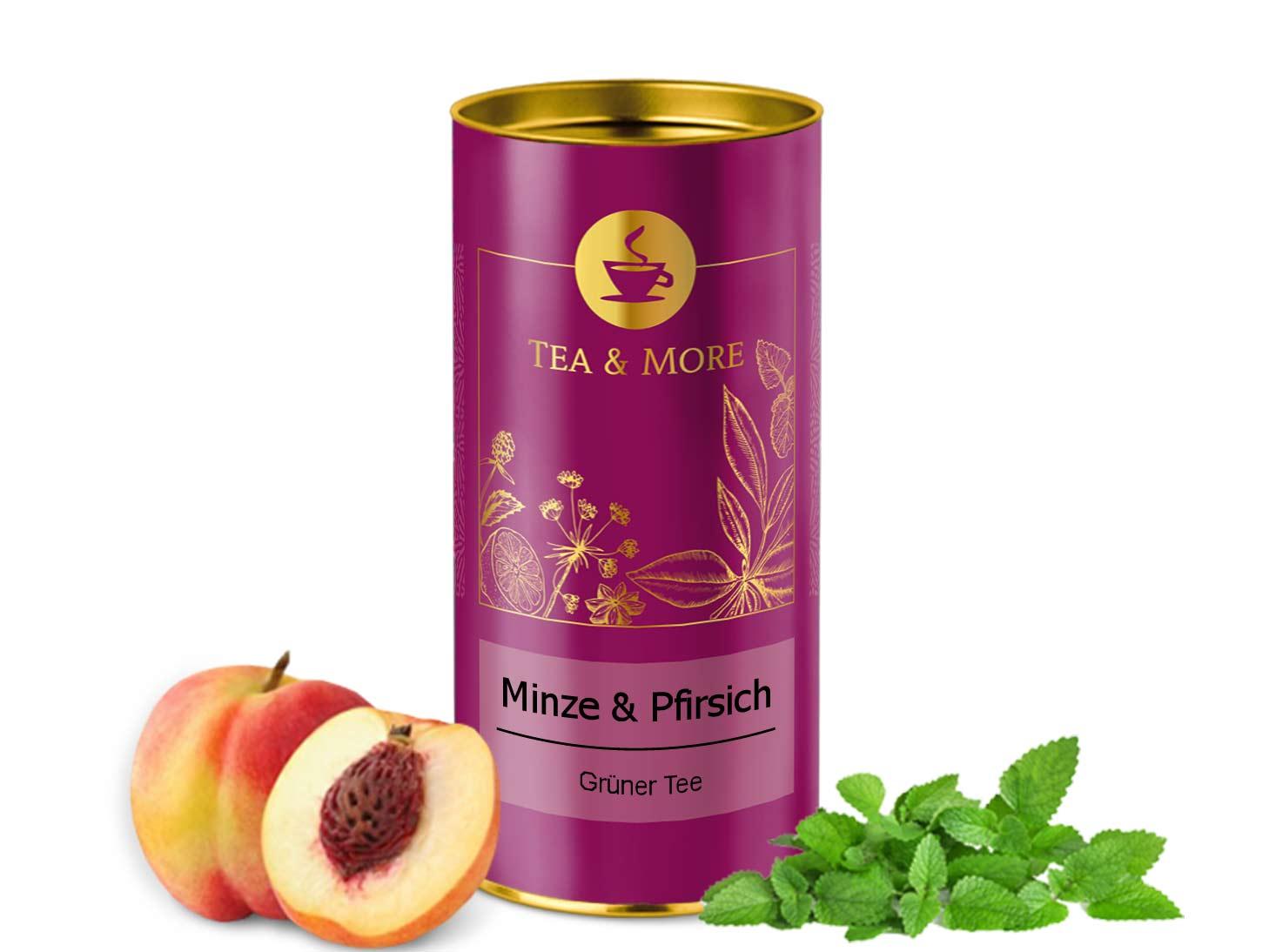 Minze & Pfirsich