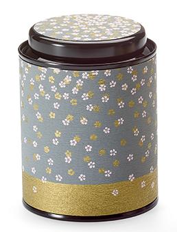 """""""Akaya"""" Dose mit Blumen Design 80 g"""