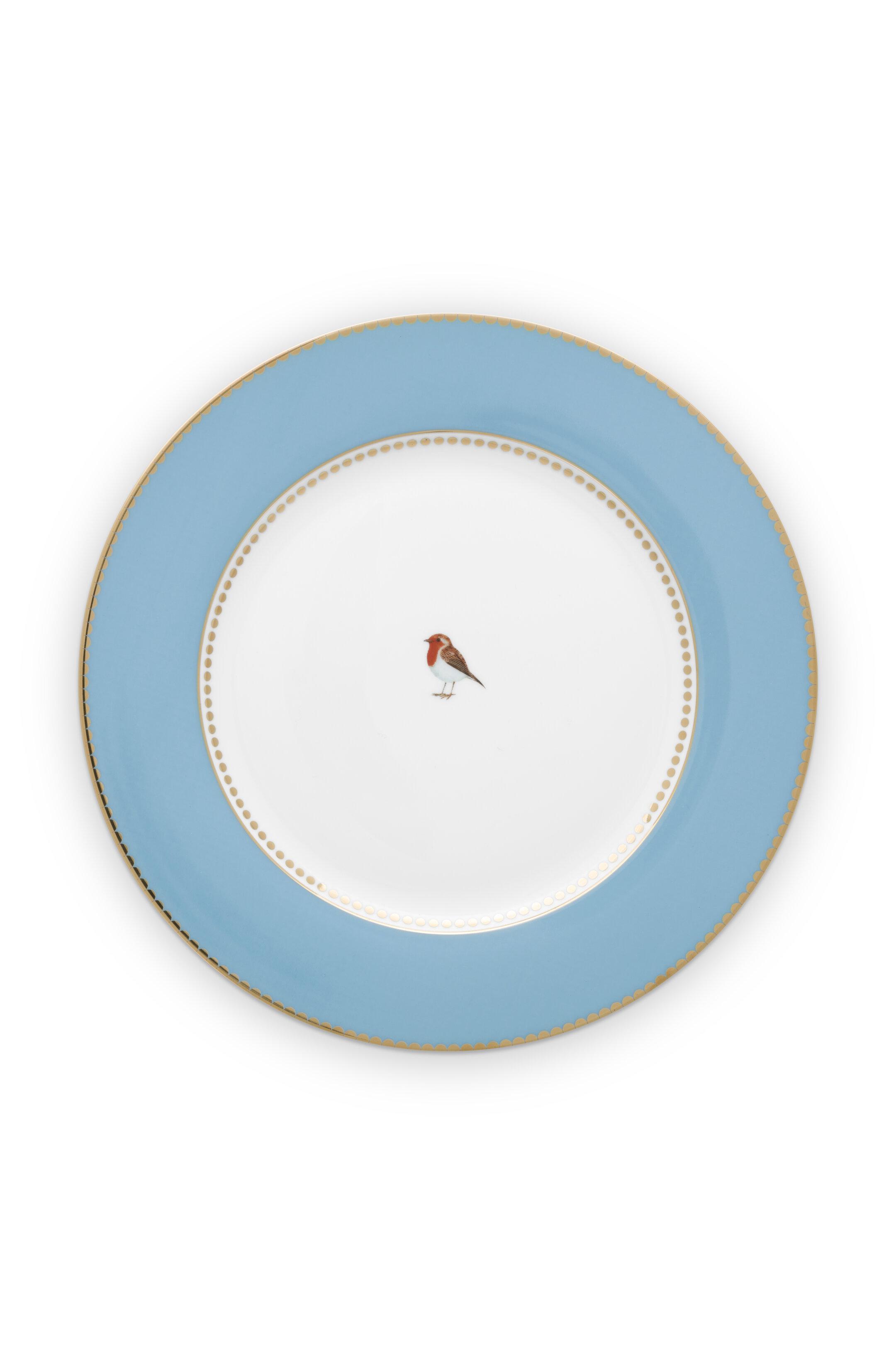 Pip Studio Love Birds Teller Blue (26.5cm)