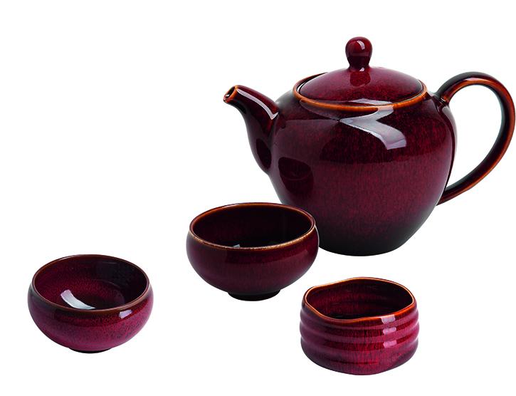 """Teapot """"Johanna"""" red (0.5 l)"""