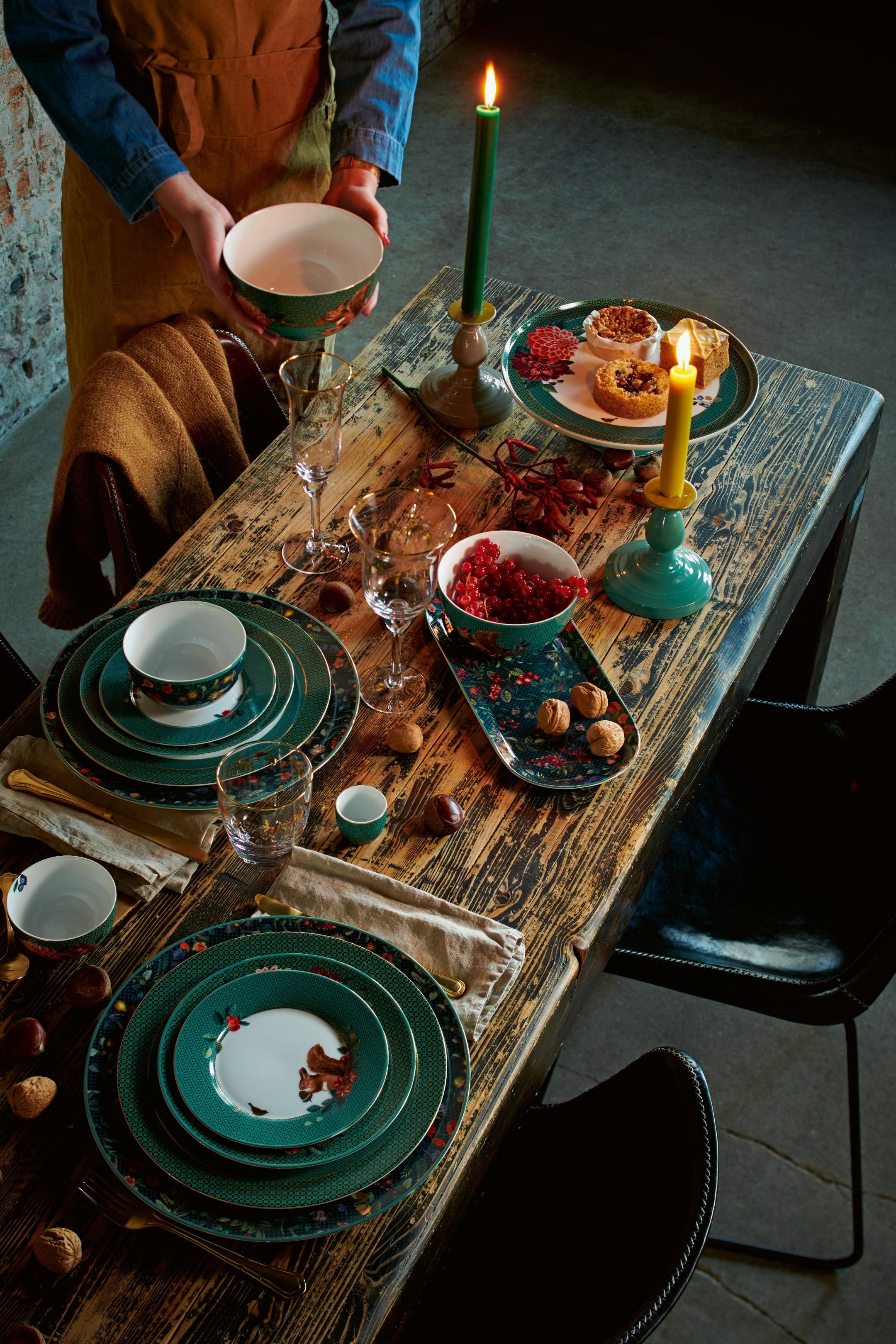 Pip Studio Winter Wonderland Kleine Tasse dunkelblau