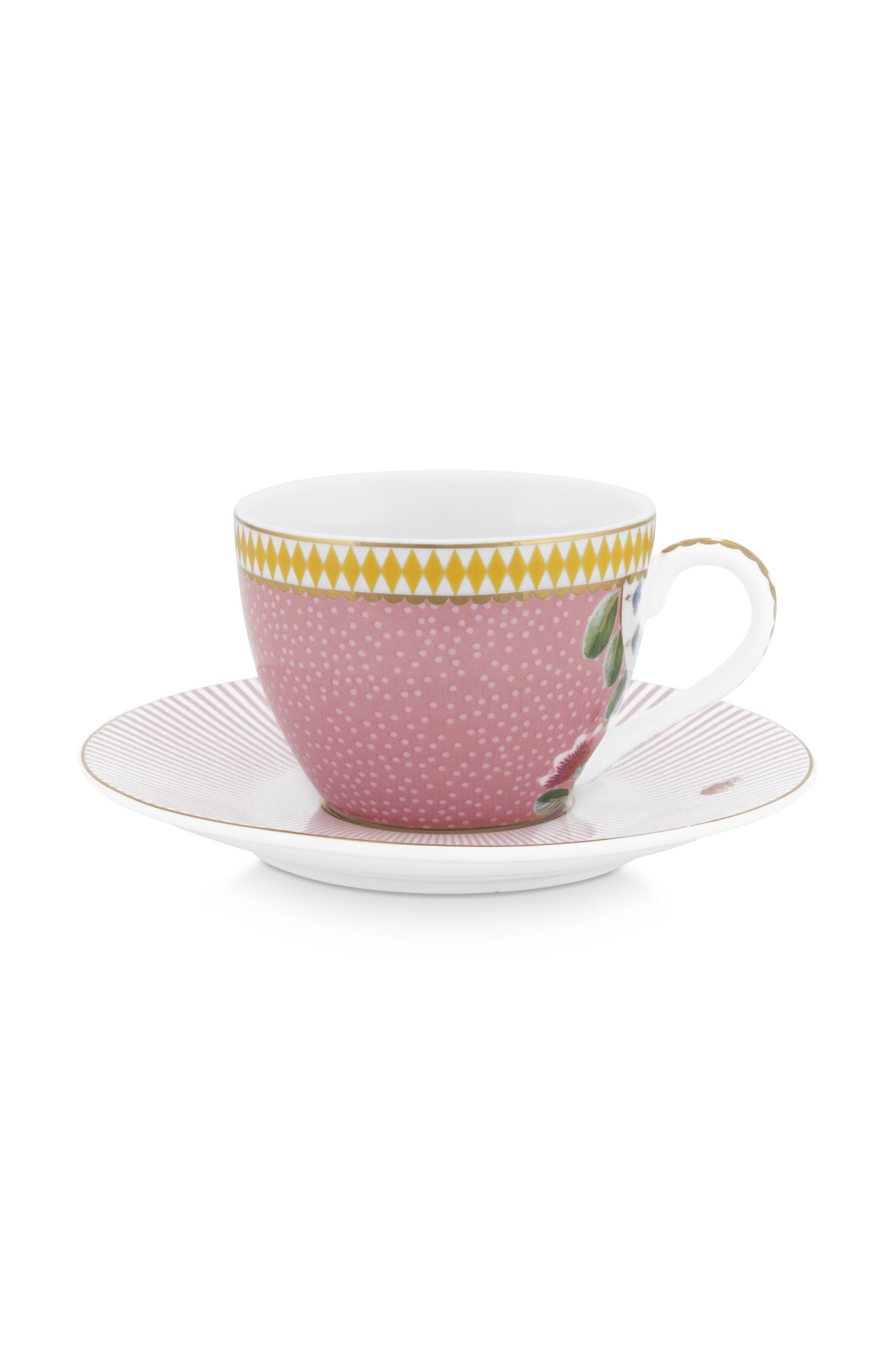 Pip Studio La Majorelle Espressotasse & Untertasse Pink
