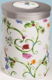 """""""Fleurette"""" tea caddy"""