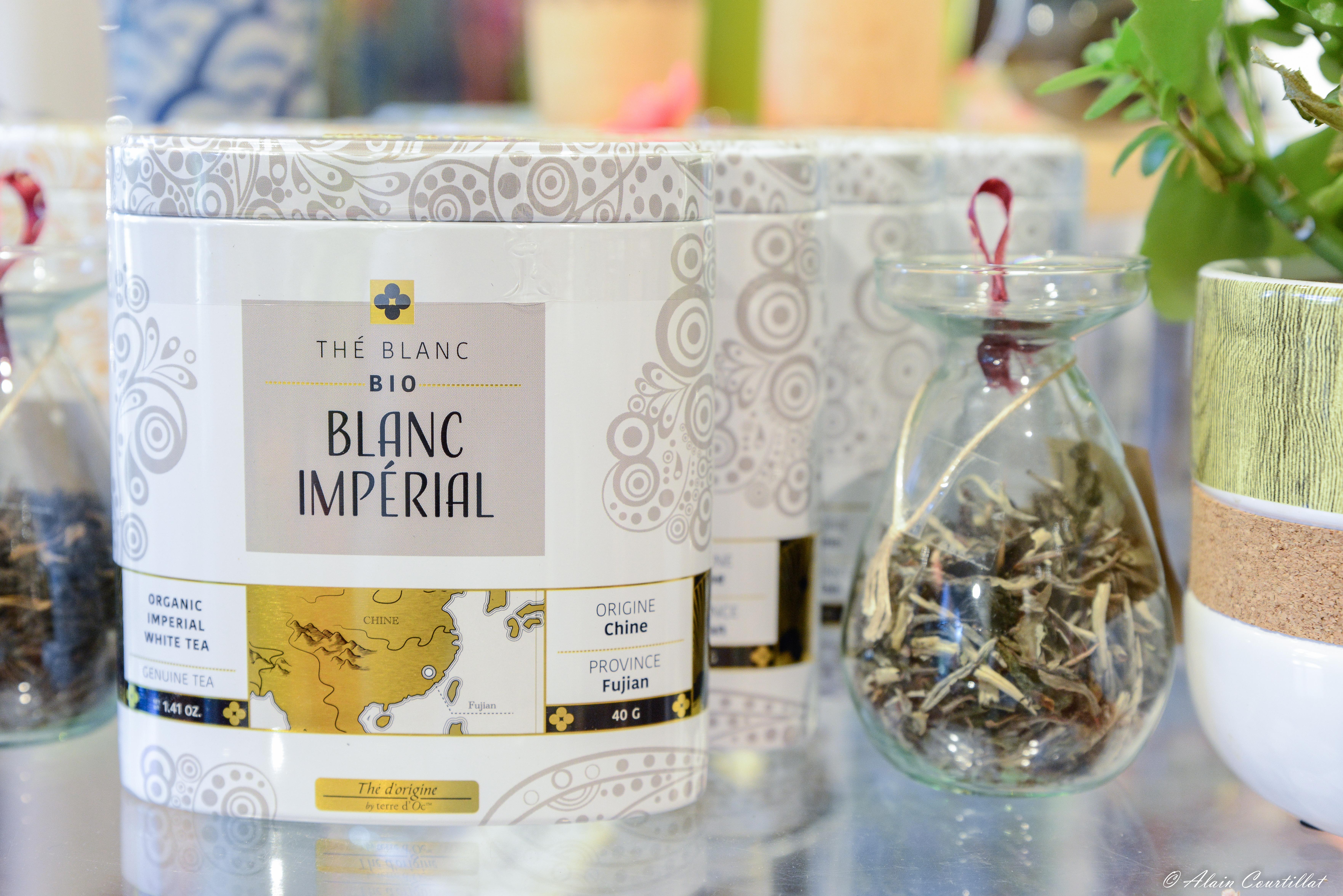 "Weißer Tee ""Blanc Impérial"" - Bio"