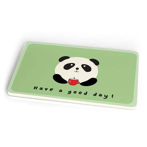 Frühstücksbrettchen - Panda Have a good day