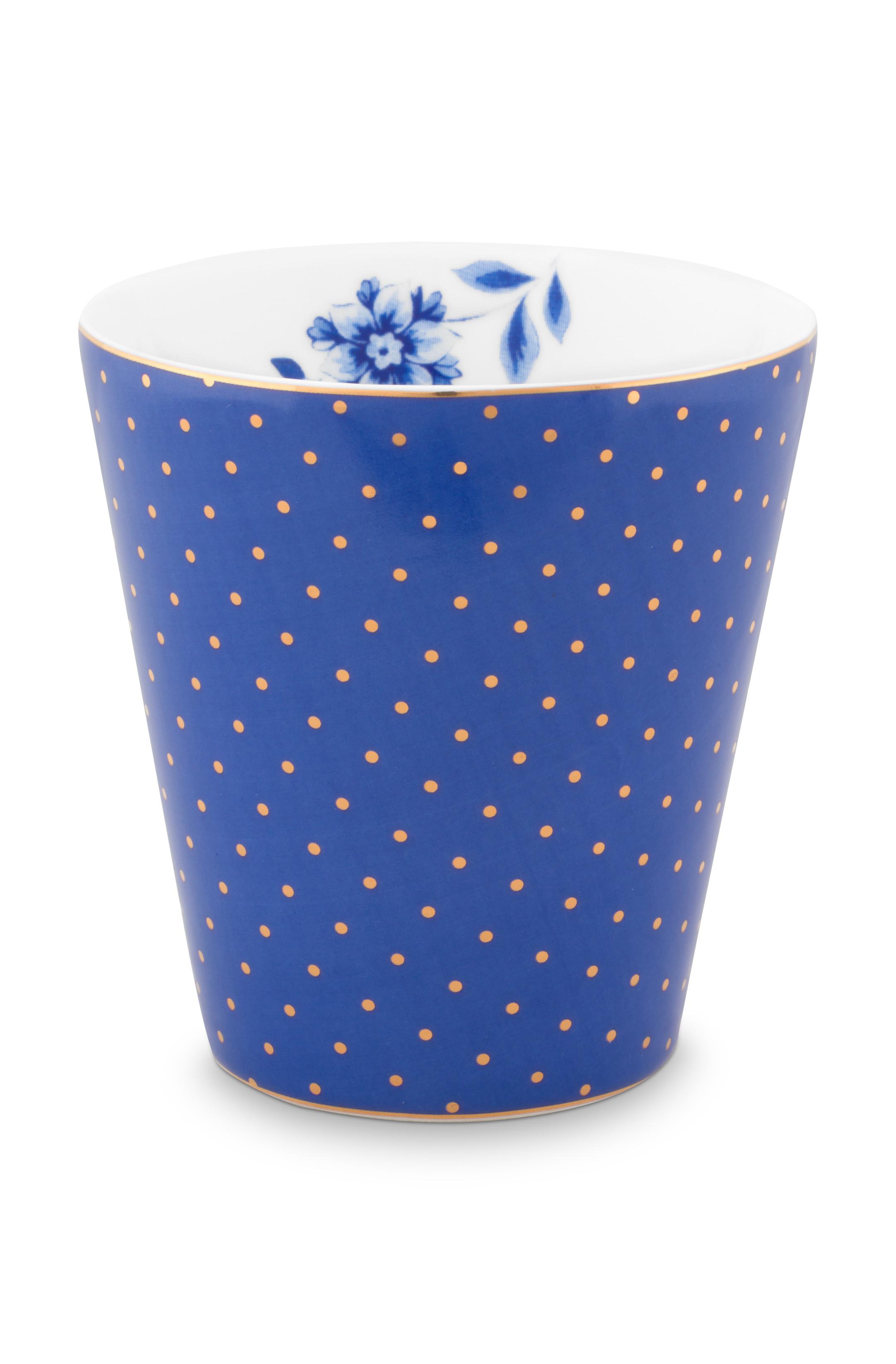 Pip Studio Becher Klein Royal Dots Blue